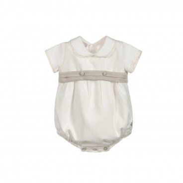Boys Ivory Cotton Shortie