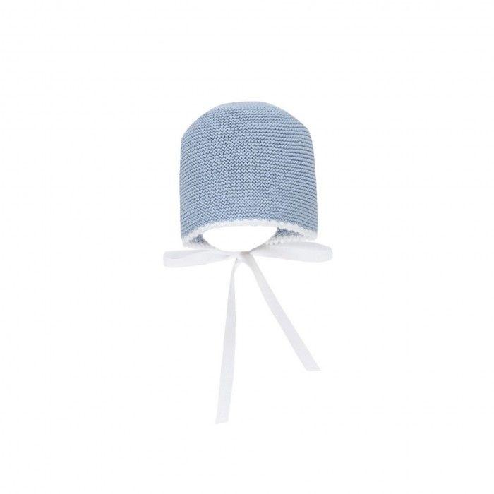 Touca Tricot Blue Fog