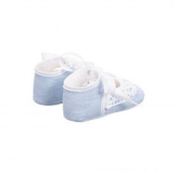 Sapato Menina Azul Vida