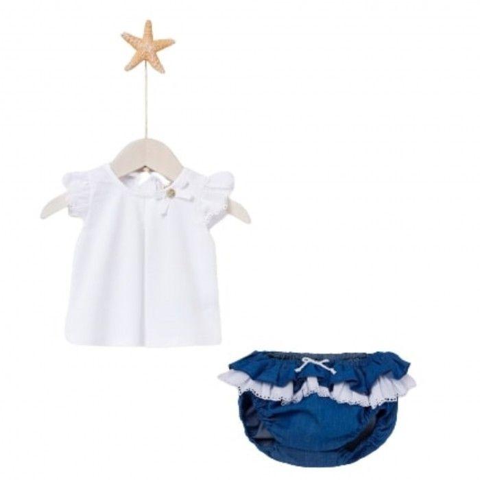 Set Knit T-Shirt & Knickers BARCO