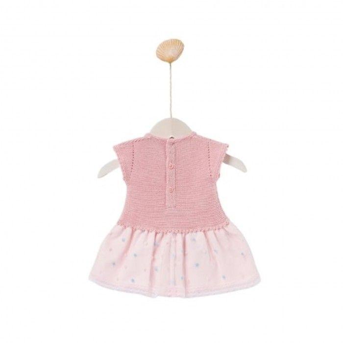 Knit Baby Dress Calima