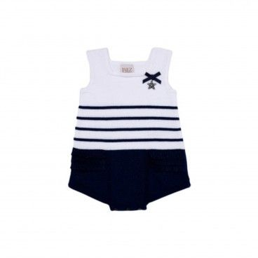 Baby Knitted Romper Altamar