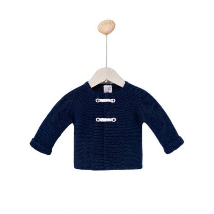 Blue Navy Cotton Cardigan
