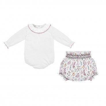 Baby Girls 2 Piece Shorts Set Prairie