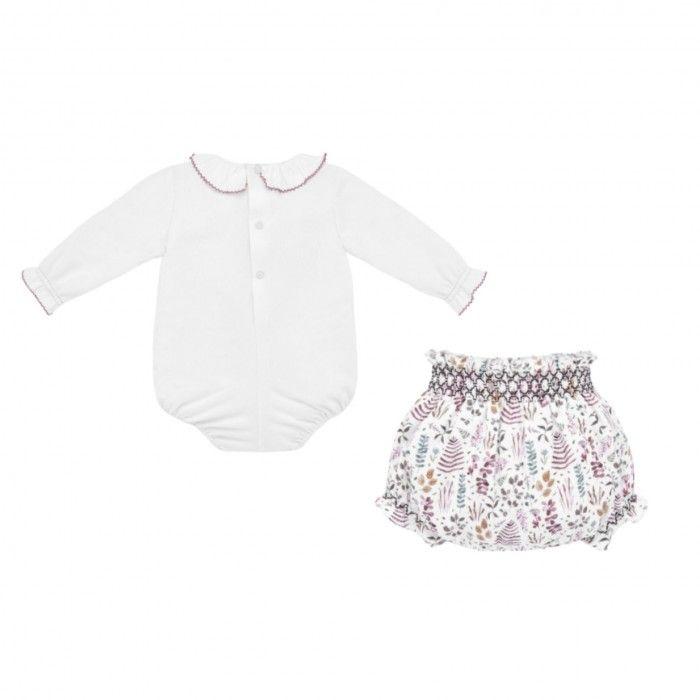 Conjunto Bebé Body & Tapa Fralda Estampado