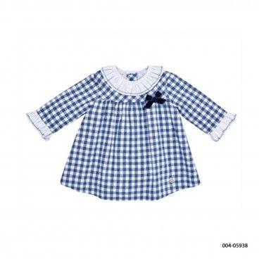 Vestido Quadrados Bebé