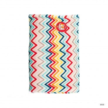 African Routes Fleece Blanket