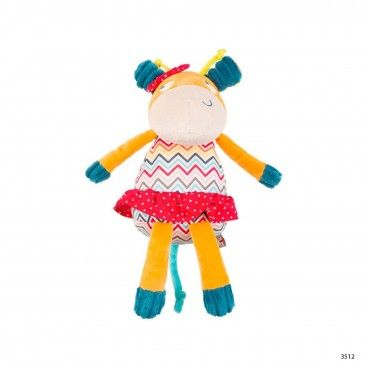 African Routes Giraffe Soft Toy