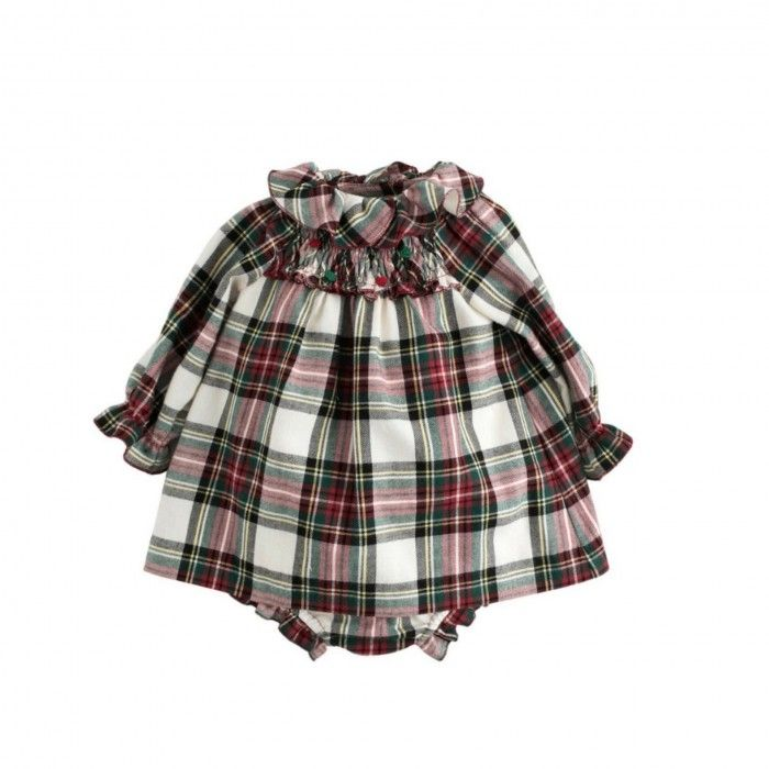 Nanos Tartan Dress Set