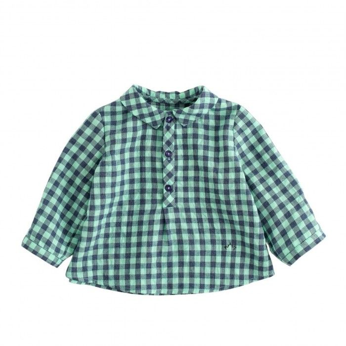 Camisa Menino Verde Nanos