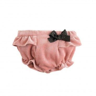 Pink Corduroy Bloomer Shorts