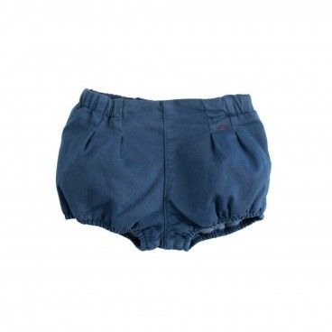 Boys Blue Cotton Bloomers