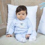 Conjunto Bebé Algodão Azul