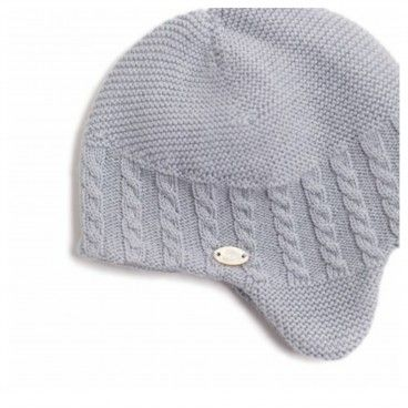 Frosted Blue Cotton Hat
