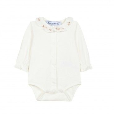 Ivory Embroidered Baby Body