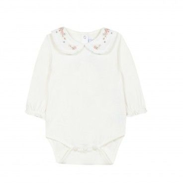 Ivory Floral Baby Body