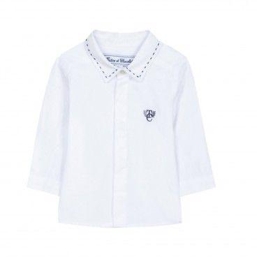 Camisa Menino Logo Tartine