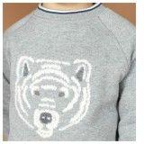 Blue Polar Bear Sweatshirt