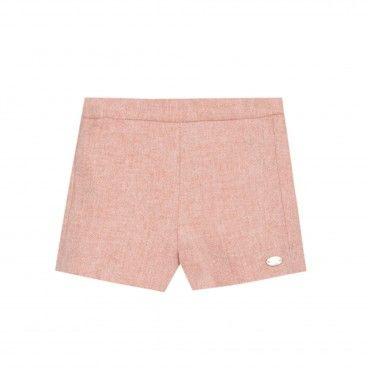 Girls Pink Shorts Tartine