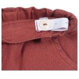Red & Grey Check Shorts Set