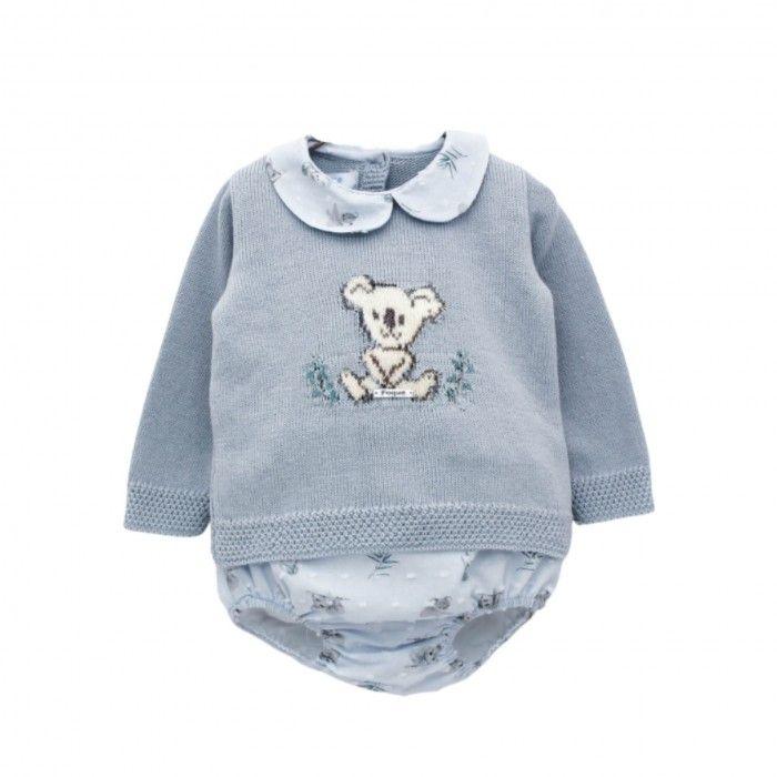 Conjunto Menino Azul Koala