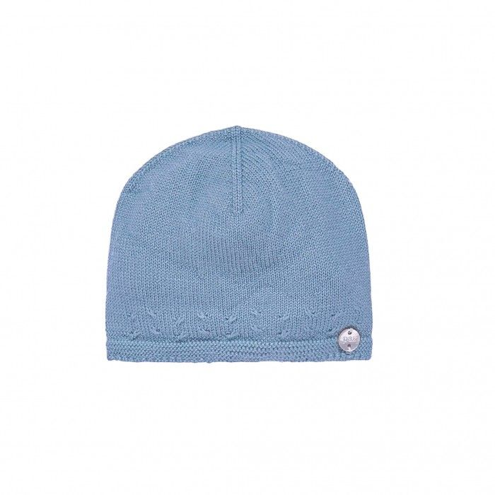 Artic Blue Knitted Hat