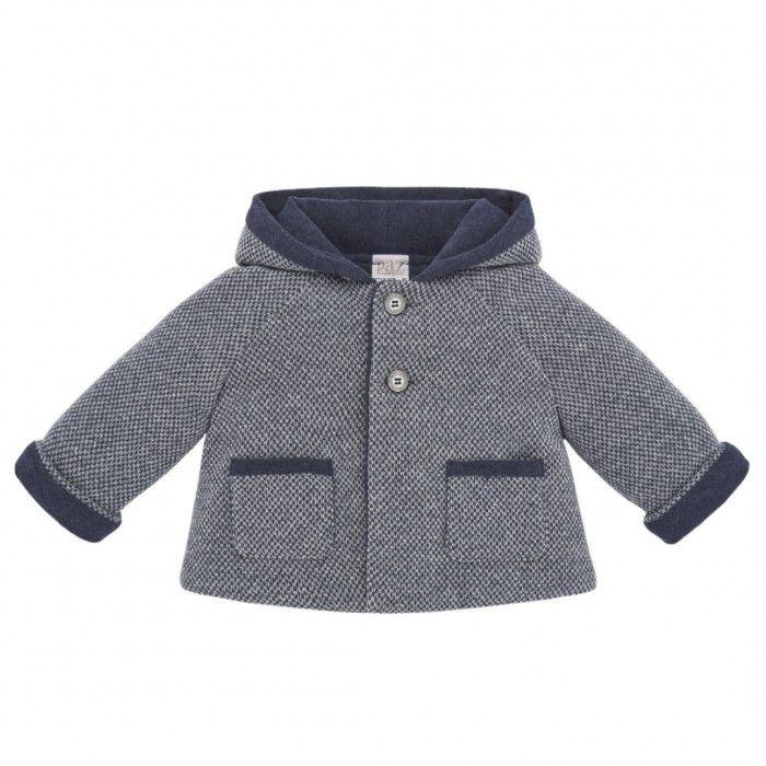 Cobalt Baby Boy Pram Coat