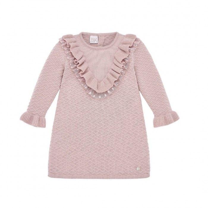 Mist Pink Knitted Dress