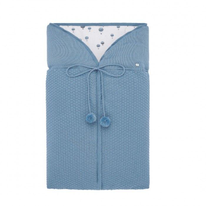 Saco Bebé Artic Blue