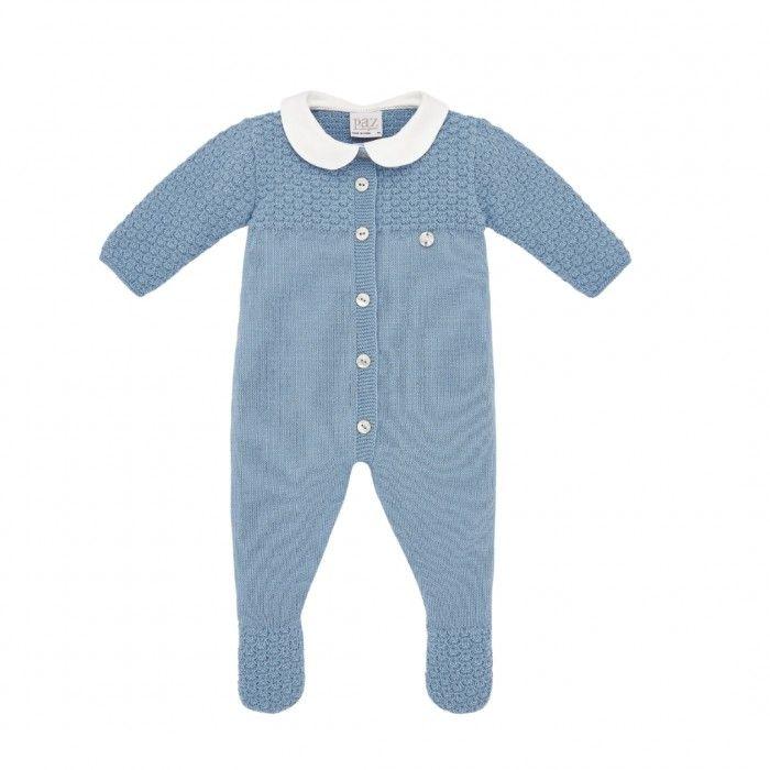 Babygrow Menino Azul Ártico
