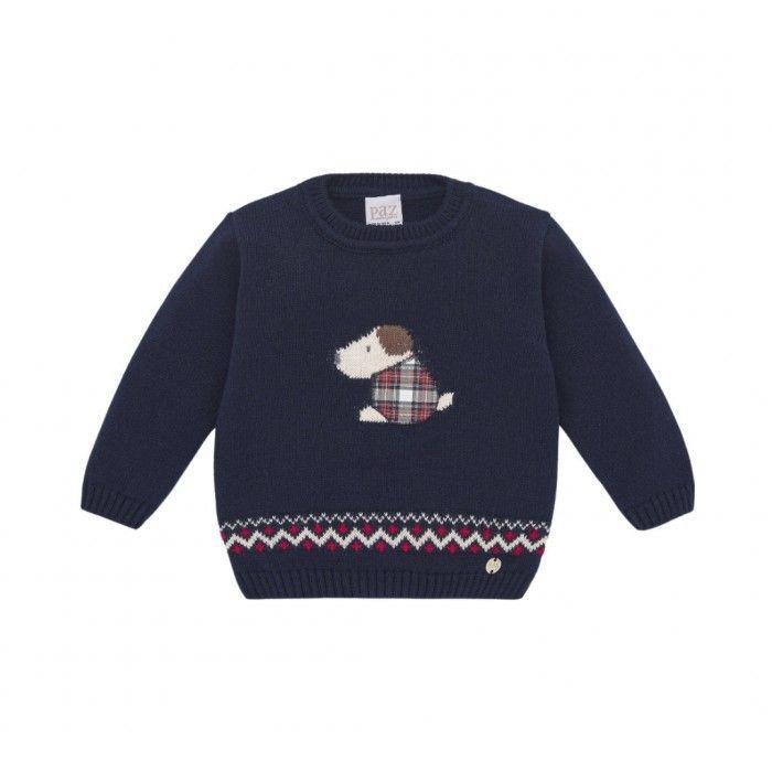 Boys Navy Blue  Sweater