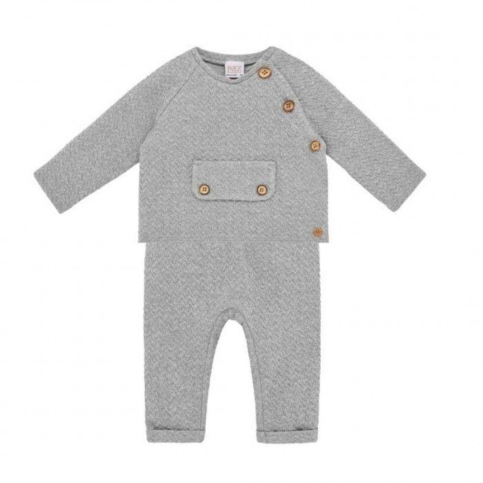 Confort Grey Trousers Set
