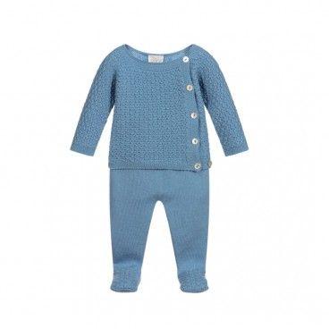 Artic Blue Babygrow Set
