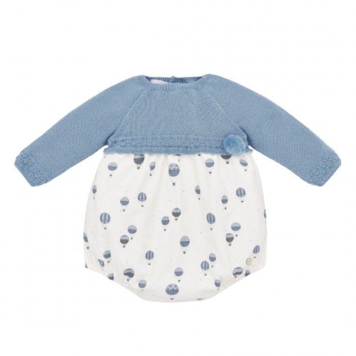 Baby Romper Artic Blue