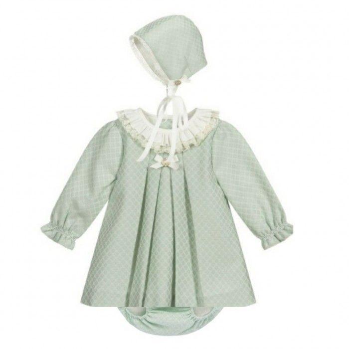 Sage Green Dress Set