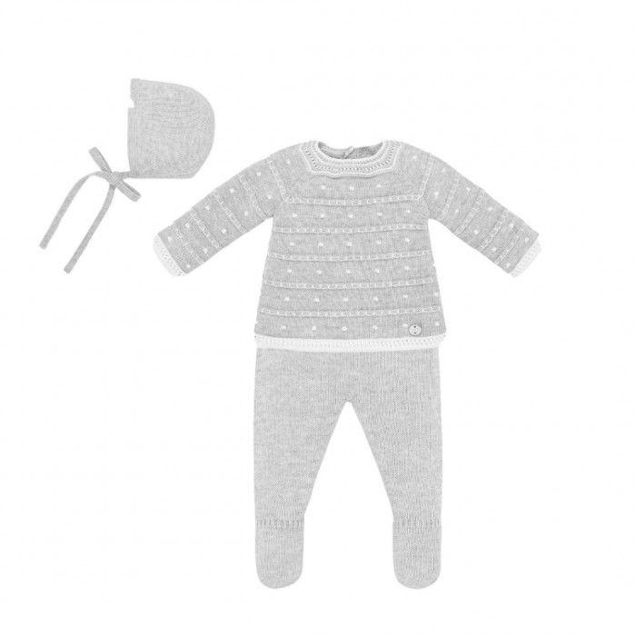 Newborn Grey Pearl Set