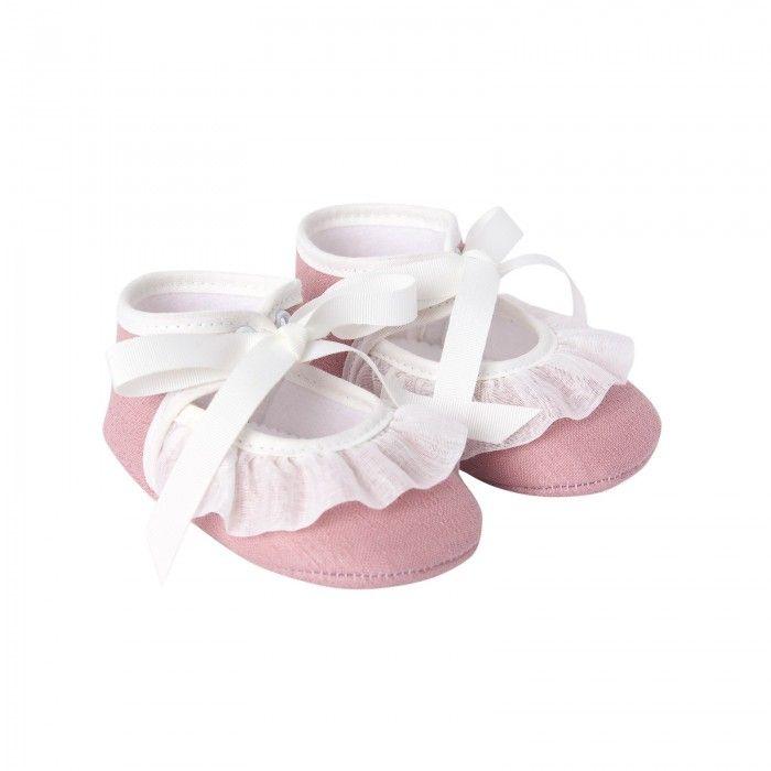 Sapato Menina Rosa Nostalgia