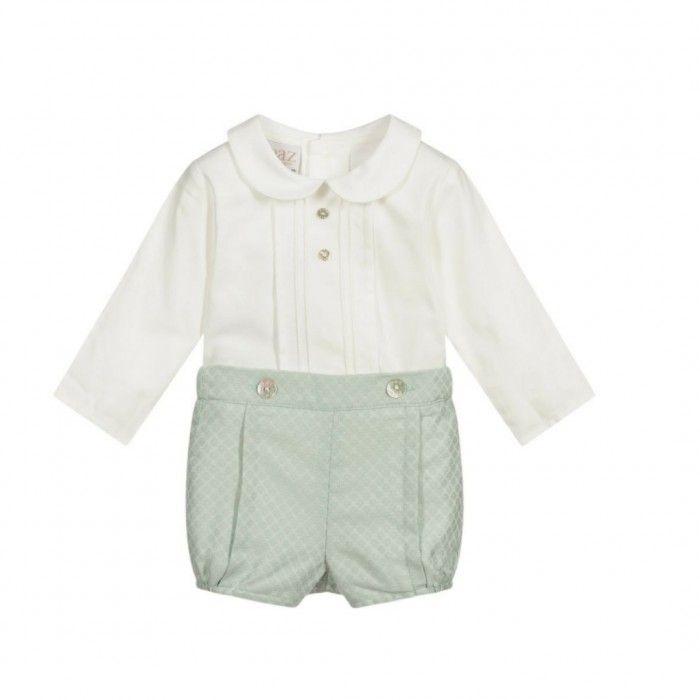 Conjunto Camisa & Calçao Verde Salvia