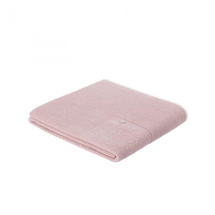 Mist Pink Baby Blanket