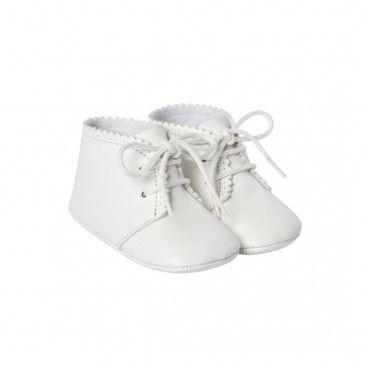 Sapato Pele Cru Bebé