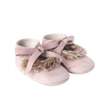 Sapato Bebé Menina Rosa