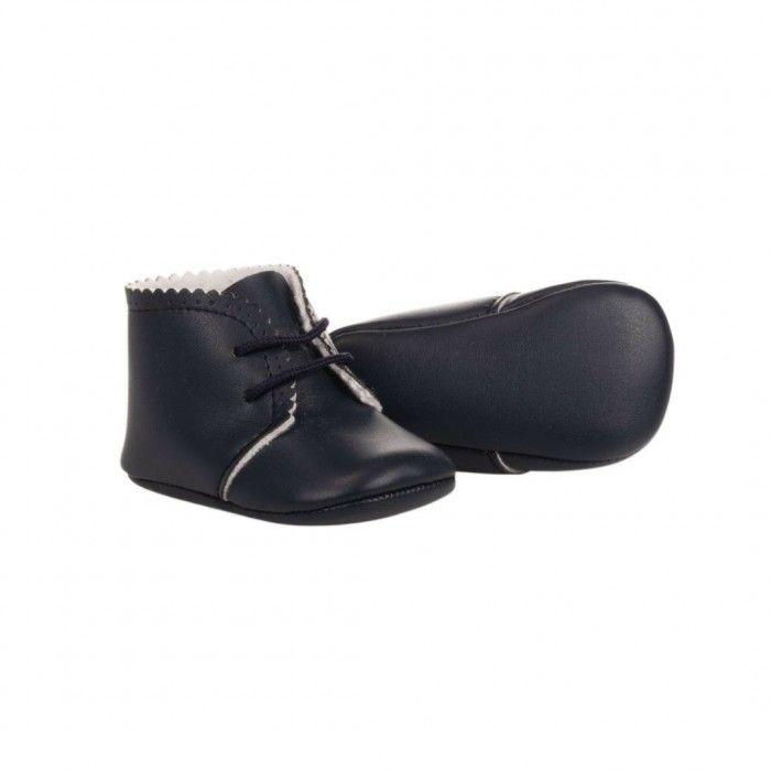Sapato Pele Marinho Bebé