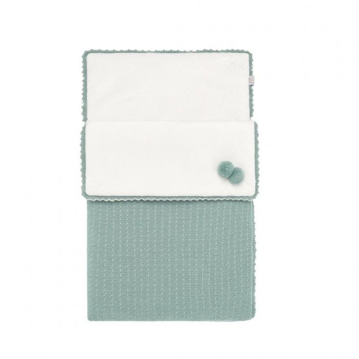 Sage Green Knitted Baby Nest