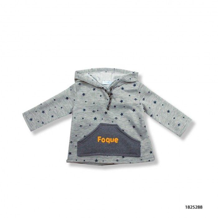 Sweatshirt Forrada com Capuz