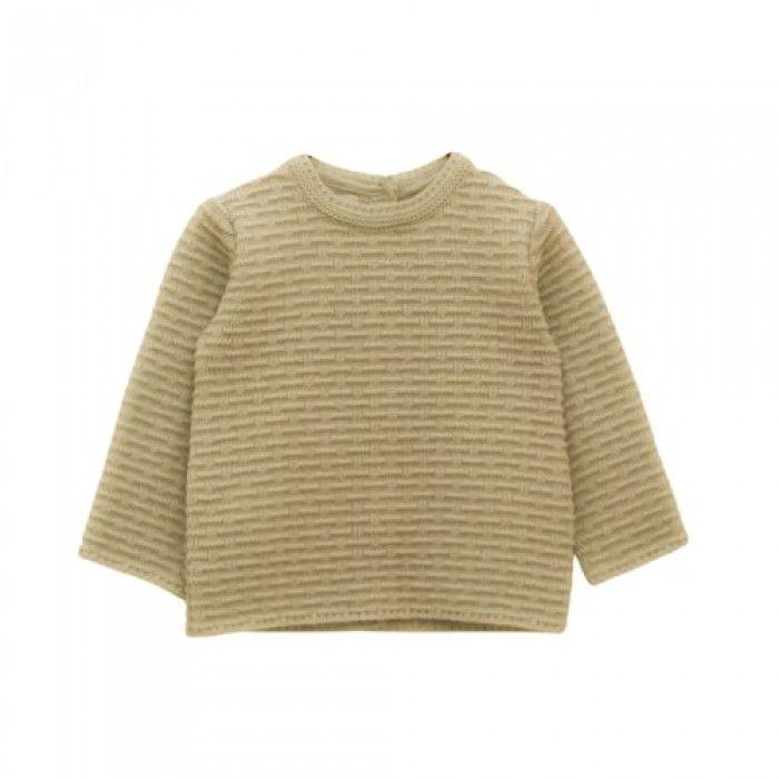Baby Beige Knit Sweat