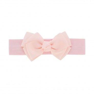 Baby Headband Ballet Pink