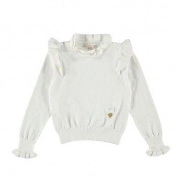 Girls Snowdrop Knitted Sweater